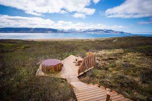 Nordic Lodges Island Ferienhaus Brekka Lodge