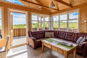 Nordic Lodges Island Ferienhaus Holt Lodge