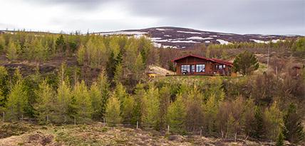 Nordic Lodges Island Hamragil Ferienhaus
