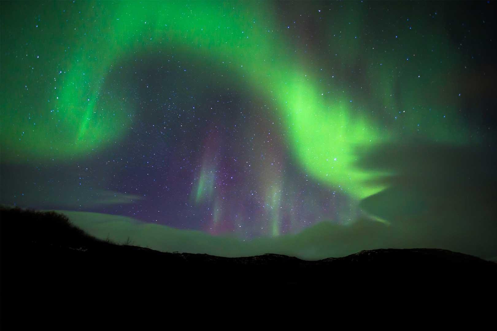 Nordic Lodges Island Nordlichter Winternächte