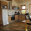 Nordic Lodges Island vollausgestattete Küchen