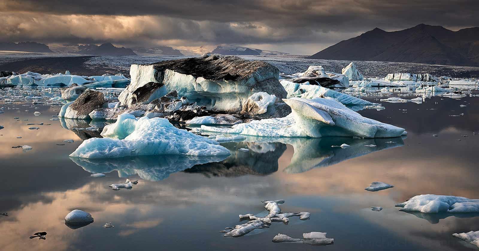 Gletschereislagune Jökulsárlón
