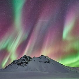 Northern lights: mostly up north?