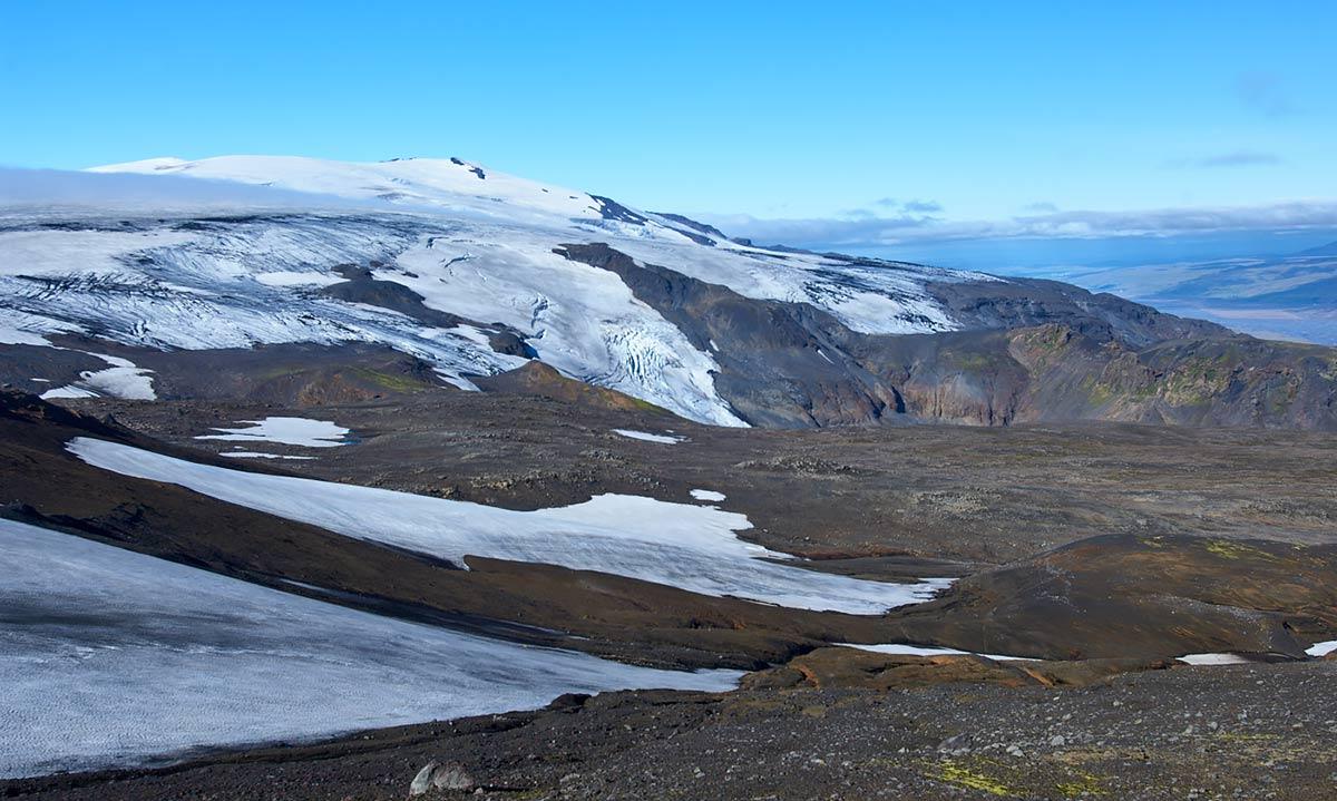 Eyjafallajökull, Iceland, glacier