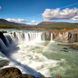 Wasserfälle im Umkreis von Ferienhaus Hamragil im Norden Islands